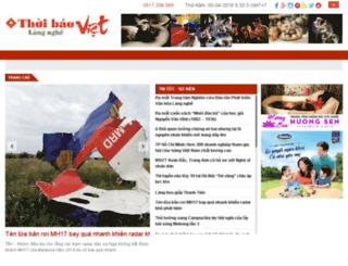 thoibaovietlangnghe.com.vn screenshot