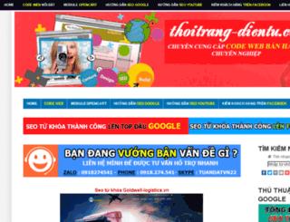 thoitrang-dientu.com screenshot