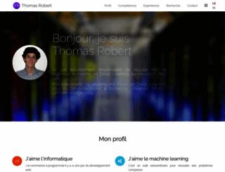 thomas-robert.fr screenshot