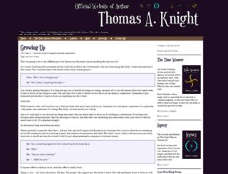thomasaknight.com screenshot