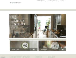 thomasandlucia.com screenshot