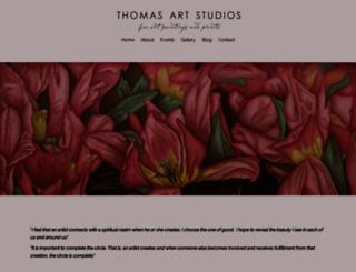thomasartstudios.com screenshot