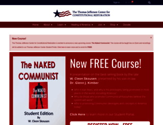 thomasjeffersoncenter.com screenshot