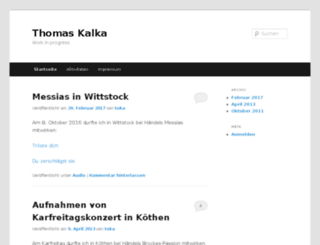 thomaskalka.de screenshot