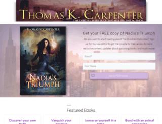 thomaskcarpenter.com screenshot