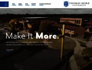 thomasmore.edu screenshot