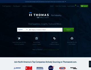 thomasnet.com screenshot