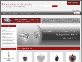 thomassabojewellery4sale.co.uk screenshot
