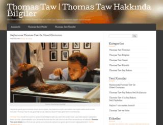 thomastaww.wordpress.com screenshot