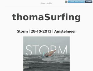 thomasurfing.nl screenshot