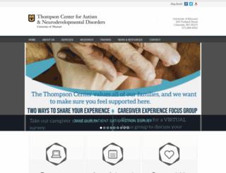 thompsoncenter.missouri.edu screenshot