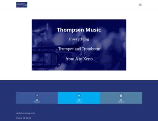 thompsonmusic.com screenshot