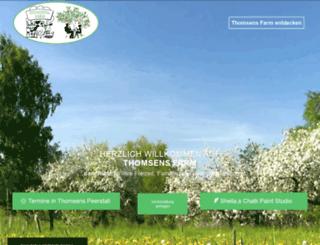 thomsens-farm.de screenshot