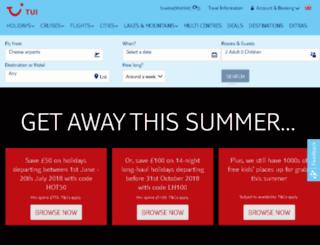thomson-cruises.co.uk screenshot