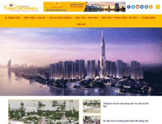 thongtinchungcu.com.vn screenshot