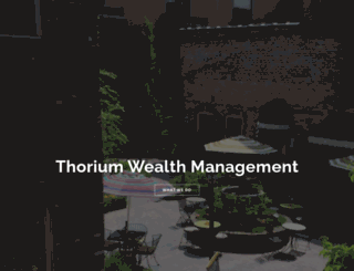 thoriumwealth.com screenshot