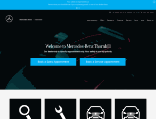 thornhill.mercedes-benz.ca screenshot