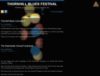 thornhillblues.co.uk screenshot