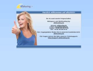 thorsten261.alfahosting.org screenshot