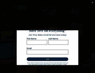 thosbaker.com screenshot