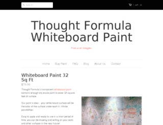thought-formula.myshopify.com screenshot