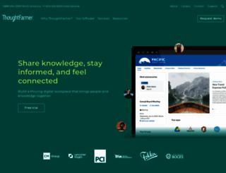 thoughtfarmer.com screenshot