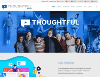 thoughtfulmedia.com screenshot