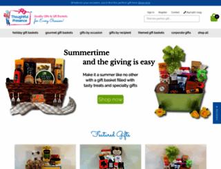thoughtfulpresence.com screenshot