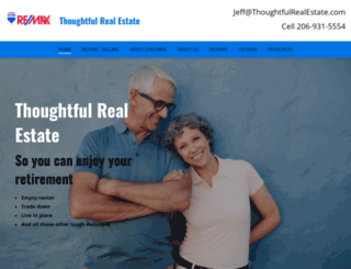 thoughtfulrealestate.com screenshot