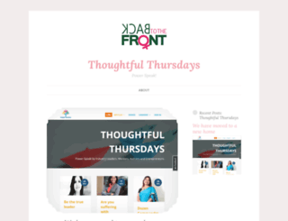 thoughtfulthursdayblog.wordpress.com screenshot