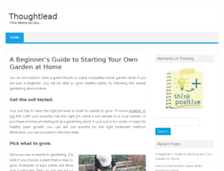 thoughtlead.com screenshot