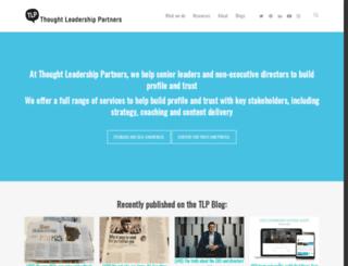 thoughtleadershippartners.com screenshot