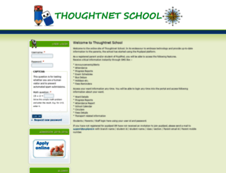 thoughtnet.pupilpod.in screenshot