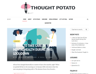 thoughtpotato.com screenshot