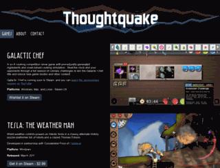 thoughtquake.com screenshot
