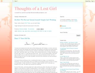 thoughts-ofalostgirl.blogspot.ie screenshot
