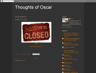 thoughtsofoscar.blogspot.com screenshot
