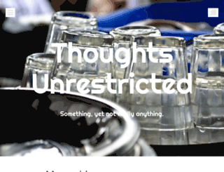 thoughtsunrestricted.wordpress.com screenshot