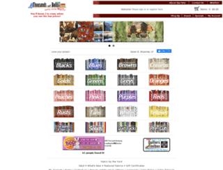thousandsofbolts.com screenshot