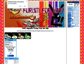 thptnguyentrungtruc.123.st screenshot