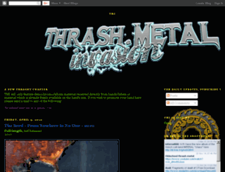 thrashmetalinvasion.blogspot.com screenshot