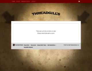 threadgills.frontgatetickets.com screenshot