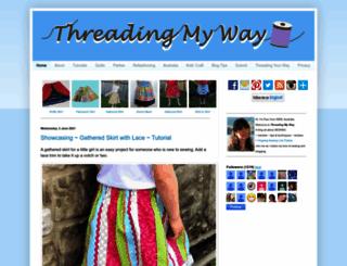 threadingmyway.com screenshot