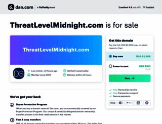 threatlevelmidnight.com screenshot