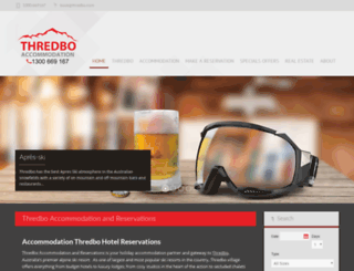 thredbo-accommodation.com.au screenshot