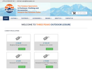 three-peaks-uk.com screenshot
