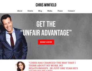 three.chriswinfield.com screenshot