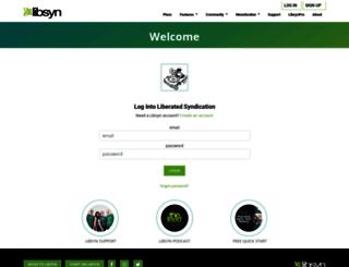 three.libsyn.com screenshot