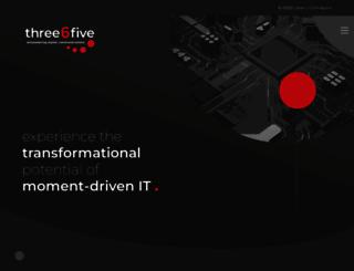 three6five.com screenshot