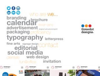 threedotdesigns.com screenshot